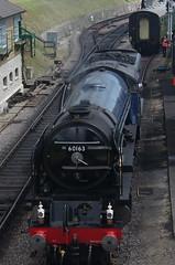 60163, A1 class 'Tornado', Swanage Railway, 13th July 2014 (OG47) Tags: train pacific railway steam locomotive tornado steamengine steamlocomotive 462 swanagerailway uksteam 60163 classa1 peppercornclassa1 pentaxk5 smcpentaxm4080mmf28