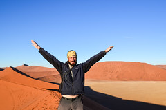 20140718-DSC_4764 (jbdodane) Tags: africa day622 desert dune45 dunes jb namibnaukluft namibnaukluftpark namibia sand sanddunes sesriem sossusvlei sunrise freewheelycom jbcyclingafrica