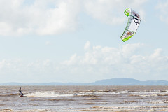 5431 kitesurfing at Allonby (David Mulgrew) Tags: seascape sport wind kiteboarding kitesurfing cumbria criffel maryport solwayfirth allonby