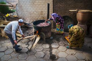 Kashgar: Breaking fast