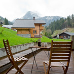 Terrace at Apartment Hameau Des Fes - More Mountain Self-catered Apartments in Morzine
