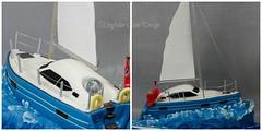 Yacht Cake (Kingfisher Cakes) Tags: boat sailing yacht solent kingfishercakes
