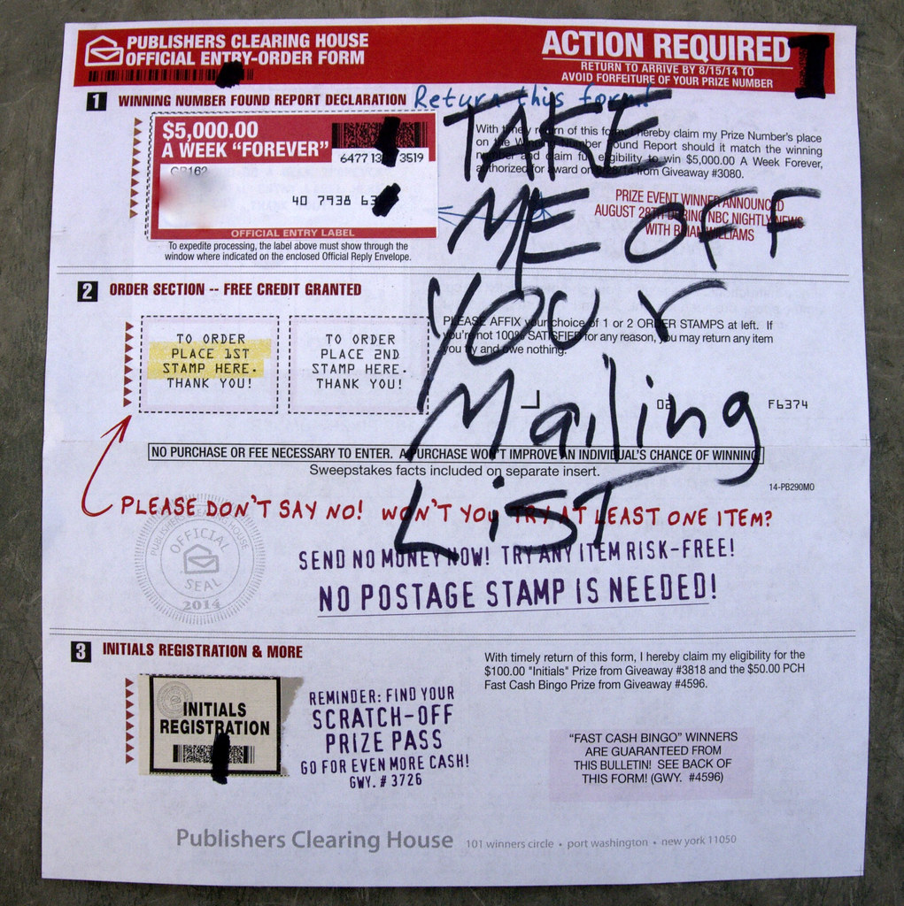 The World's Best Photos of directmail and pch - Flickr Hive Mind