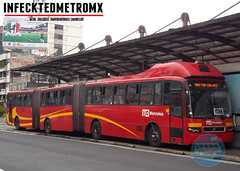Volvo BRT 7300 Biarticulado Metrobus (infecktedbusgarage) Tags: mexico volvo df camion ciudaddemexico brt metrobus rtp busrapidtransit articulado mexicanbus biarticulado 7300brt volvo7300 reddetransportedepasajerosdeldf