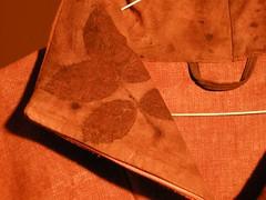 veste brune detail col