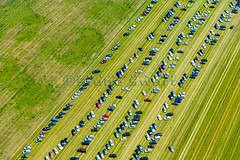 SMS_20140626_0543.jpg (Luchtfotografie SiebeSwart.nl Aerial Photography) Tags: auto park holland cars scale netherlands grass lines car weide parkinglot pattern parking transport nede