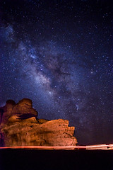 Milky Way at Wadi Rum (fatchan711) Tags: sony jordan a7