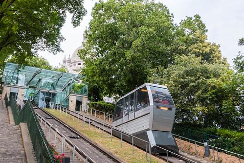Le funiculaire de Montmartre