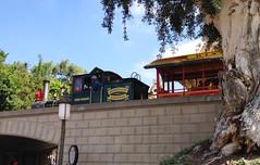 Disneyland Railroad Locomotive Fred Gurley (hupspring) Tags: railroad train disneyland locomotive passenger southerncalifornia orangecounty anaheim steamengine mainstreetstation steamlocomotive passengertrain disneylandrailroad dlrr 244t fredgurley
