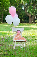 Alyssa 1st Birthday/Cake Smash Session (Christopher George Photography) Tags: birthday park baby cake photoshop balloons tampa photography photo smash toddler child tampabay alyssa 1st tarponsprings pinellas