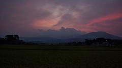 Sunset Calm (jasohill) Tags: life sunset summer nature japan landscape evening august calm iwate  noda  tohoku matsuo hachimantai 2014 canonef24mmf28