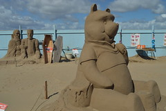 Winnie the Pooh (CoasterMadMatt) Tags: uk greatbritain summer england sculpture southwest west art english monster statue festival season photography town seaside rachel sand nikon mare time photos unitedkingdom britain south north august somerset super structure dracula resort event photographs onceuponatime frankenstein pooh gb winniethepooh british once frankensteinsmonster winnie towns sergi sculptures sandsculpture stubbs westonsupermare upon weston artworks count ramirez seasideresort sandsculptures northsomerset 2014 nikond3200 countdracula seasidetown sandsculpturefestival d3200 sandstructure coastermadmatt rachelstubbs august2014 coastermadmattphotography sergiramirez sandsculpturefestivalwestonsupermare