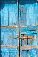 Pyrgos element (Giannicola74) Tags: door blue santorini greece grecia oia fira thera