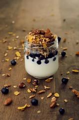 yogurt y granola (i'm so pale, goddamn) Tags: food green water fruit photography frozen rice gourmet eat gastronomia shake yogurt tuna atun arroz yamani musli