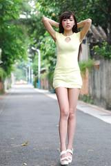2014 Kaka@ () Tags: portrait girl female model pretty highheels outdoor taiwan taipei kaka    2014        dslrfun  tamrona007