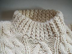 Aran wool crewneck (Mytwist) Tags: wool fetish sweater crewneck bluetaosskier