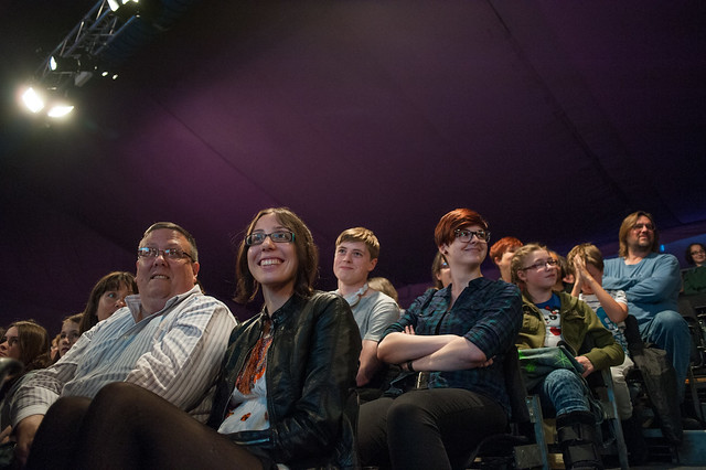 Happy Book Festival audience