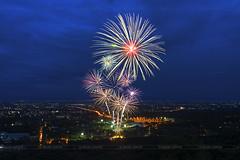 The colorful of fireworks at Chiang Mai, Thailand (ANUJAK JAIMOOK) Tags: park thailand day fireworks mother royal firework queen mai chiang rajapruek anujak jaimook