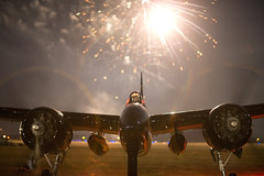 Tigercat_CYXX_8450 (Mike Head -Jetwashphotos) Tags: canada bc fireworks britishcolumbia airshow grumman tigercat f7f westerncanada abbotsfordinternationalairshow twilightshow pacificregion
