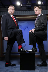 Dmitry Titov Jordan Ryan - Socks! (TBTAOTW2011) Tags: old red man black feet leather socks businessman daddy foot shoe shoes dad dress pants handsome tie business suit belly mature older loafer