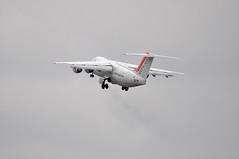 [09:27] 'WX17D' (WX0117) LCY-DUB (A380spotter) Tags: climb 27 departure takeoff gim londoncityairport avro wx rj85 brakedust lcy cityjet garinishisland climbout bcy eglc 146rj85 runway27 eirjw baeavro gearinmotion wx17d wx0117 lcydub