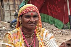 Woman, local market in Jaisalmer-Rajasthan-India (MeriMena) Tags: travel people india women faces market jaisalmer rajasthan portrates canon450d merimena