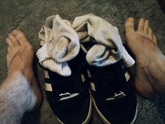 Gay white sock worship
