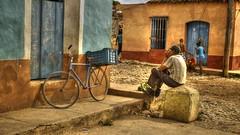 Trinidad - Cuba (IV2K) Tags: poverty hot bike bicycle sony cuba poor gritty castro heat trinidad caribbean cuban hdr kuba rx1 gretty