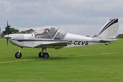 G-CEVS (QSY on-route) Tags: northampton rally orm laa 2014 sywell egbk gcevs 30082014