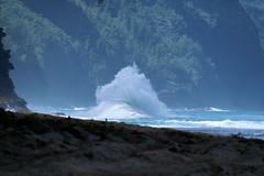 Haena-State-Park-Wave_Kauai-HI_03-02-2007d (Count_Strad) Tags: park beach island hawaii surf waves scenic wave kauai haena haenastatepark
