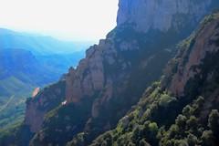 Spain - Monserrat (Hercules.) Tags: trees mountains valencia river landscape outside spain outdoor monserrat 5photosaday llobregatriver