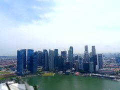 SIngapour from Marina Bay Sands