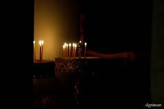 Light (dgriman) Tags: church island candles hellas greece folegandros mistery kyklades cycklades