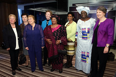 UN Women and Mary Robinson Foundation-Climate Justice Host Forum (UN Women Gallery) Tags: climatejustice maryrobinson theelders phumzilemlambongcuka genderequality indigenouswomen womensempowerment unwomen womenandclimatechange