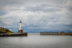 Harbour Entrance, Maryport (Clog dancing fiddler) Tags: sea lighthouse coast harbour maritime maryport