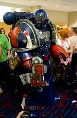 Crimson Fist Space Marine (macavitecas) Tags: cosplay 40k convention warhammer dragoncon gamesworkshop spacemarine crimsonfists