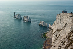 The Needles (hutchyp) Tags: lighthouse island rocks battery national trust needles isle wight