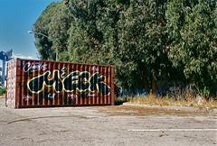 Meck (always_exploring) Tags: film 35mm graffiti charles explore pi lurking filmphotography meck eastbaygraffiti bayareagraffiti meck9 charlescrew charlesmob charlestribe meck89