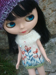 Blythe embroidered dress