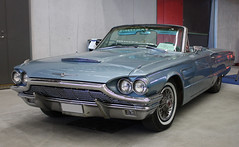 1965 Ford Thunderbird (crusaderstgeorge) Tags: cars ford sweden classiccars 1965 americancars sandviken 1965fordthunderbird arenawheels