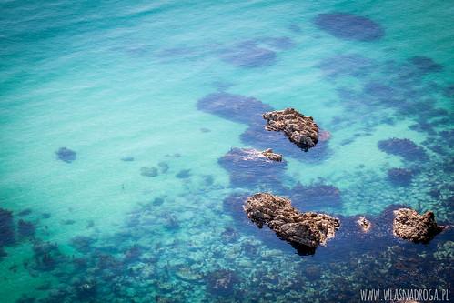 Lazurowe wody Morza Japońskiego (Wschodniego)