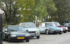 Citroën BX, Peugeot 504 & Citroën DS x2 (peterolthof) Tags: peterolthof hoogkerk citroën bx ds peugeot 504
