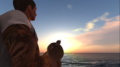 The Last Day With My Daughter (EmmettChapmanUK) Tags: goodbye blog heartonmysleeve heartbroken divorce mother father son baby daughter zooby dadsofsl secondlife sl