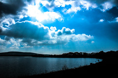 Blue Sky (Frivolous Photography) Tags: blue sky clouds cloud bluesky whitecolouds water lake trees shaddow silhouette england springtime spring englishweather sun sunny sunnyengland sussex eastsussex englishspringtime nature natural arlingtonreservoir reservoir arlington amaturephotography amature canonphotography canoneos1300d canon colour canoneos countryside colourful colours contrast greyclouds treesihlouette manmade manmadereservoir reflections sunray sunbeam lightbeam light h2o novice novicephotography photography dslrphotography dslr photos photo picture pictures lightroom enhanced enhance saturation exposure
