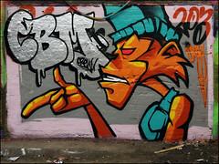 CBM (Alex Ellison) Tags: cbm southlondon leakestreet tunnel waterloo urban graffiti graff boobs halloffame