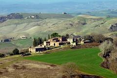 Accona Desert (Darea62) Tags: landscape hills tuscany nature farm acconadesert panorama cretesenesi cypress trees grass italy asciano clay agriculture