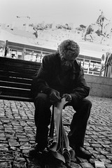 pages (Anton C.) Tags: bw analoguephotography adofix adox adoxadonal analogue artinbw blackwhite black white blackandwhite blanconegro bench 35mm film filmisnotdead ishootfilm kodaktrix monochrome nikon nikkor nikonf3hp nikkorai35mm128 people rodinal streetphotography streetlife standdevelopement semistand selfdeveloped sidewalk tx400 pages magazine rest old time dark noir portugal lisbon shadow shade