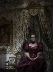 Marie Antoinette (Haley D13) Tags: horror horrorphotography photography marie antoinette french historical history queen versailles beheaded beheading severed head gore blood