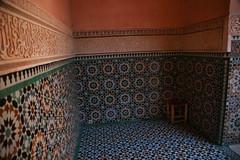 Islamic Mosaic (georgesteedman) Tags: mosaic morroco marrakech medersabenyoussef africa northafrica