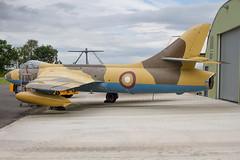 QA10 Hawker Hunter FGA78 Qatar AF (JaffaPix +3 million views-thank you.) Tags: yorkshireairmuseum elvington aeroplane aircraft airplane museum museam preserved preservation military davejefferys jaffapix jaffapixcom n268 qaf qa10 hawker hunter fga78 qataraf egyk